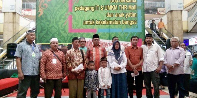 Bentuk Rasa Syukur, Pedagang IT dan UMKM Hi Tech Mall Gelar Doa Bersama